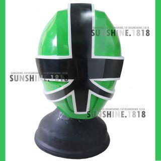 Samurai Green Power Rangers Shinkenger Helmet Mask 1 1