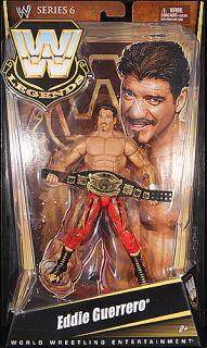 Eddie Guerrero WWE Legends 6 Toy Wrestling Action Figure