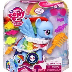 My Little Pony Fashion Ponies   Rainbow Dash Dress Up Pretend Toy Game