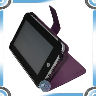 PU Leather Case Cover for 7inch eBook Reader Tablet PC Mid