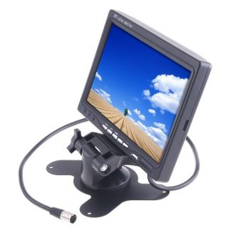 TFT LCD Color Car Rearview Headrest Monitor DVD VCR