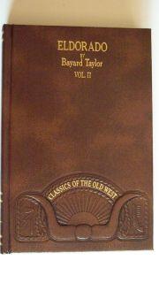 of The Old West Eldorado Volume 2 Bayard Taylor Time Life Books