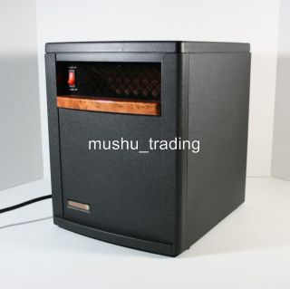 EDENPURE GEN3 QUARTZ INFRARED PORTABLE HEATER A3729 EDEN PURE
