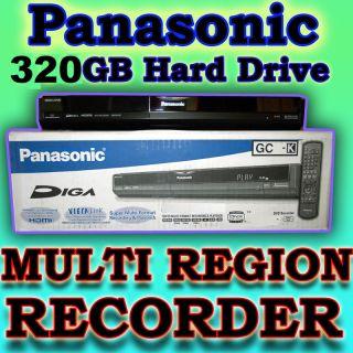 320GB Panasonic Code Region Player Free DVD Recorder