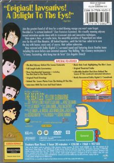 THE BEATLES YELLOW SUBMARINE   ALL TIME CLASSIC   NEW & SEALED DVD