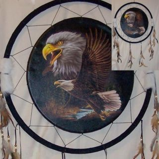 26in Eagle Dream Catcher Reproduction
