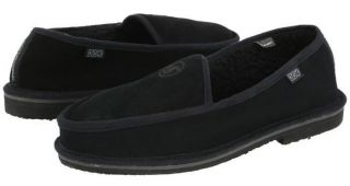 DVS Skate Shoes Fransisco Slippers Black Suede Size XXL Mens 13 14