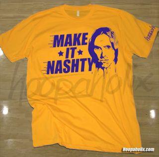 Nash Los Angeles Lakers T Shirt Limited jersey L.A. dwight howard kobe