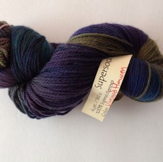 Cherry Tree Hill Hand Painted Superwash Merino Indie Dyer Yarn