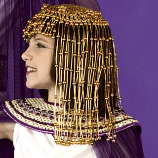 Egyptian Cleopatra Costume Headpiece by Loftus Interntional One Size