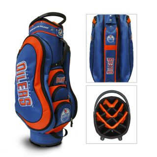 Edmonton Oilers NHL Cart Golf Bag with Free Gift Brand New by Team