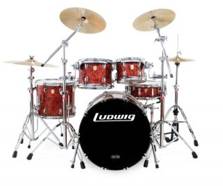 Ludwig Drums Classic Maple Shell Pack Big Beat L8625EM
