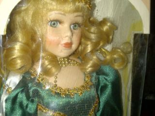 Ashley Belle Fine Bisque Porcelain Doll Vintage Collectible
