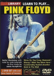 Learn five Pink Floyd tracks note for note with Jamie Humphries