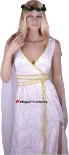 Medieval Greek Goddess Cleopatra Roman Toga Fancy Dress Costume XL 16
