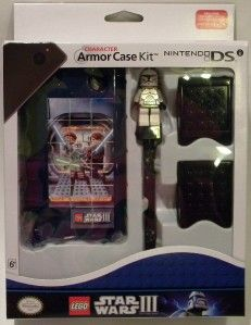 lego star wars iii nintendo dsi character armor case kit set stylus