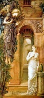Angel Annunciation Virgin Mary Archangel Gabriel Print