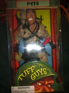 Tuff Guys Collectible Action Figure Pete New Tree House Kids Figure