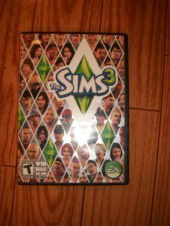 The Sims 3 ea Games PC Mac Win DVD ROM Software Computer $10 Bonus