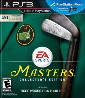 Ea Tiger Woods PGA Tour 13 The Masters Collectors Edition Sports Game