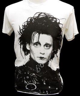 Edward Scissorhands Johnny Depp Retro Movie T Shirt S