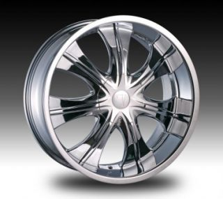 Velocity VW750S 22x9 5 Chrome VW750S Rims 22 Dub Wheel Set