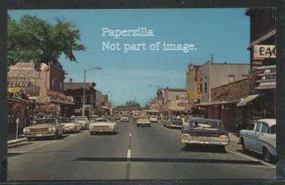 wi eagle river chrome 60 s street cars stores signs description the