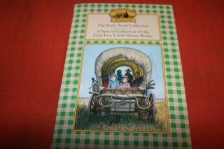 Little house on the prairie book set 5 box set laura wilder