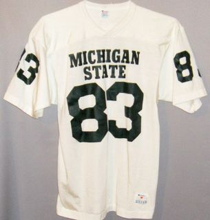 Original 1983 Michigan State Spartans Vintage Champion Football Jersey