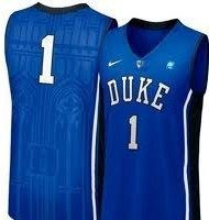 Kyrie Irving Duke Blue Devils Nike Basketball Sewn Men 2X Jersey