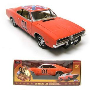 18 LARGE SCALE The Dukes of Hazzard 01 GENERAL LEE Diecast Car 11