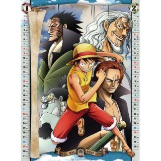 One Piece Calendar 2012 Luffy New Anime Oda Eiichiro Nami Japan Free