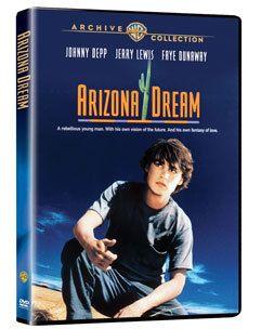 Arizona Dream DVD Johnny Depp Jerry Lewis Faye Dunaway