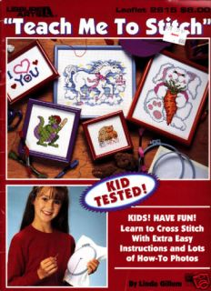 Craft Books 1018 Teach Me to Stitch Easy Cross Stitch