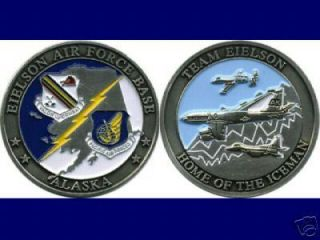 Eielson Air Force Base Alaska Iceman Challenge Coin
