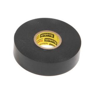 3M Electrical Tape Scotch Super 33 Black 0.750 in. Width 66 ft. Length