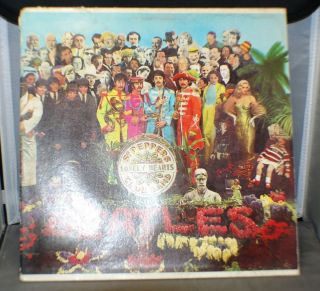 Beatles Sgt Peppers Lonely Hearts Band Mono