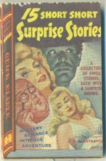 Collectible Paperback Quick Reader 15 Short Stories