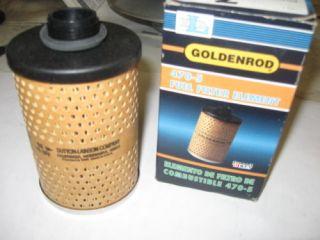 Dutton Lainson Goldenrod Fuel Filter Element 470 5 New