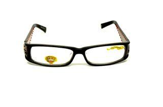 Ed Hardy EH 0723 Black s 56 RX Glasses Plastic Eyeglasses Authentic