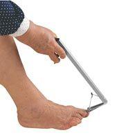 Ableware 741390000 Pistol Grip Remote Toe Nail Clipper