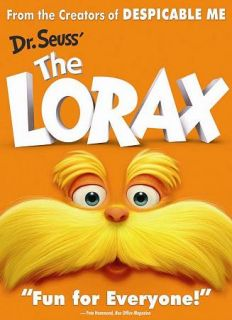 The Lorax New DVD Betty White Taylor Swift Zac Efron Ed Helms D