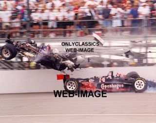 1995 Stan Fox Foyt Indy 500 Wild Crash Race Car Photo 1