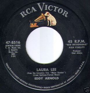 Eddy Arnold Laura Lee What's He 1965 7""