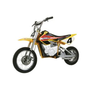 Razor MX650 Dirt Rocket Electric Motocross Bike 650 Watt Black Red New