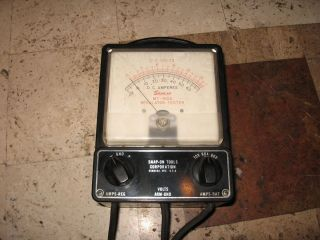 Vintage Snap on Tool MT 415 Tach Dwell Meter