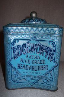 Edgeworth Extra High Grade Ready Rubbed Smoking Tobacco Tin