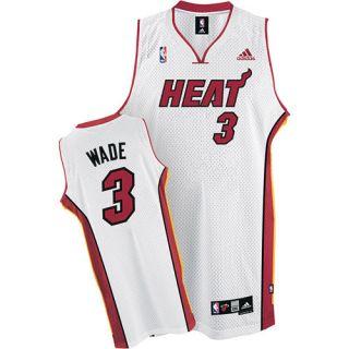 Dwyane Wade Miami Heat White Swingman Jersey Size 3XL