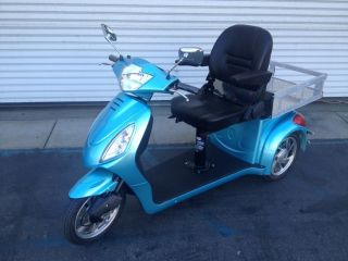 Fastest Three Wheel Electric Mobility Utility Scooter