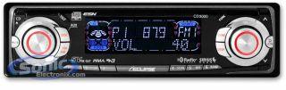 Eclipse CD3000 Audio Am FM Sirius Car Stereo Radio CD WMA aac  iPod